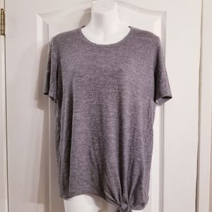 Lucky Brand Front Knot tee